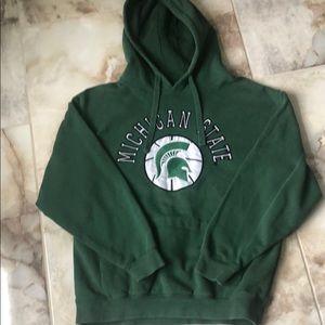 Other - MSU hooded sweatshirt Small